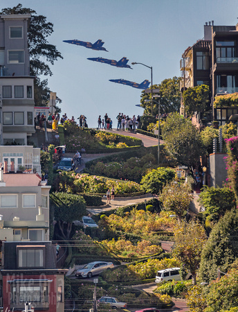 Angels Over Lombard      © 2016 Mike Oria Photography